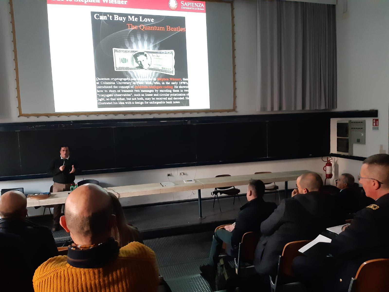 Conferenza presentazione Master - 16 Gennaio 2020 - Aula 1 Via Eudossiana - ore 15:00